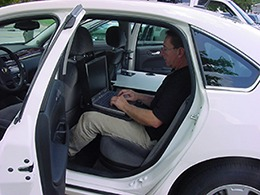 Cargo Desk Ergonomic Back Seat Car Desk With